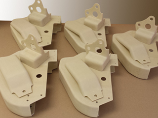 Fiberglass Fabrication - Military CH47 Shroud Assemblies