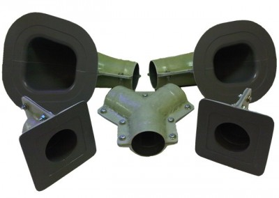 Aerospace Fiberglass & Composites by CED - Complete Mold Assemblies for Aircraft Ducting