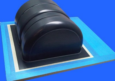 Military Fiberglass & Composites by CED - Fiberglass Air Intake Mold